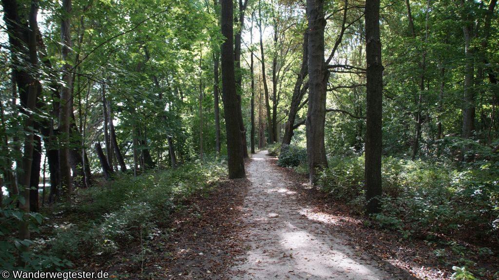 Wanderweg Lehnitzsee Wanderweg