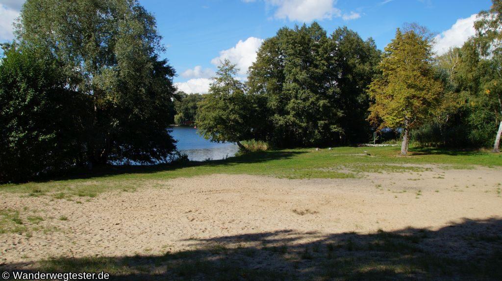 Lehnitzsee Weißer Strand