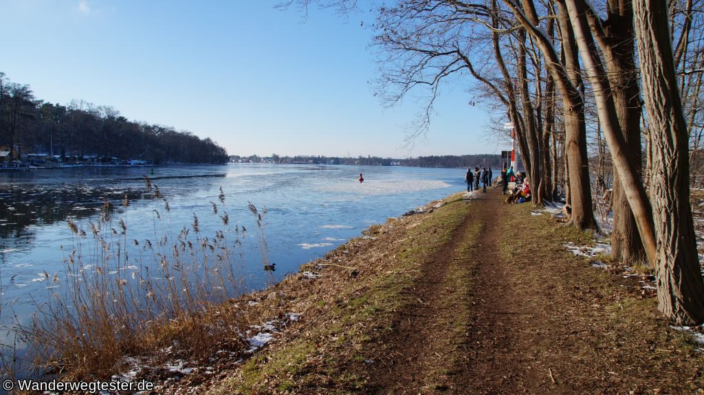 Wanderweg Wernsdorfer See