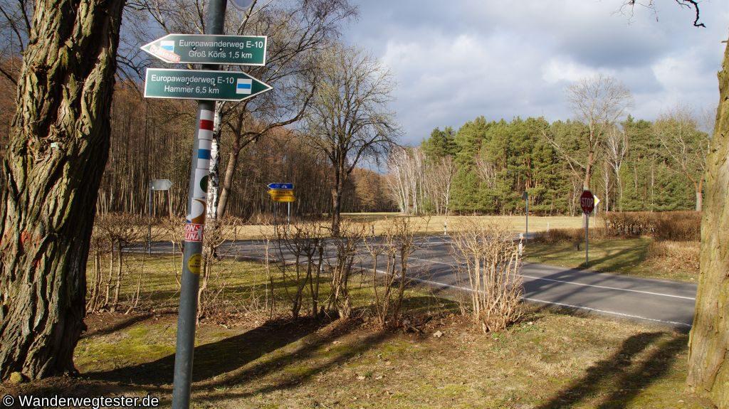 Wanderweg Klein Köriser See Titelbild