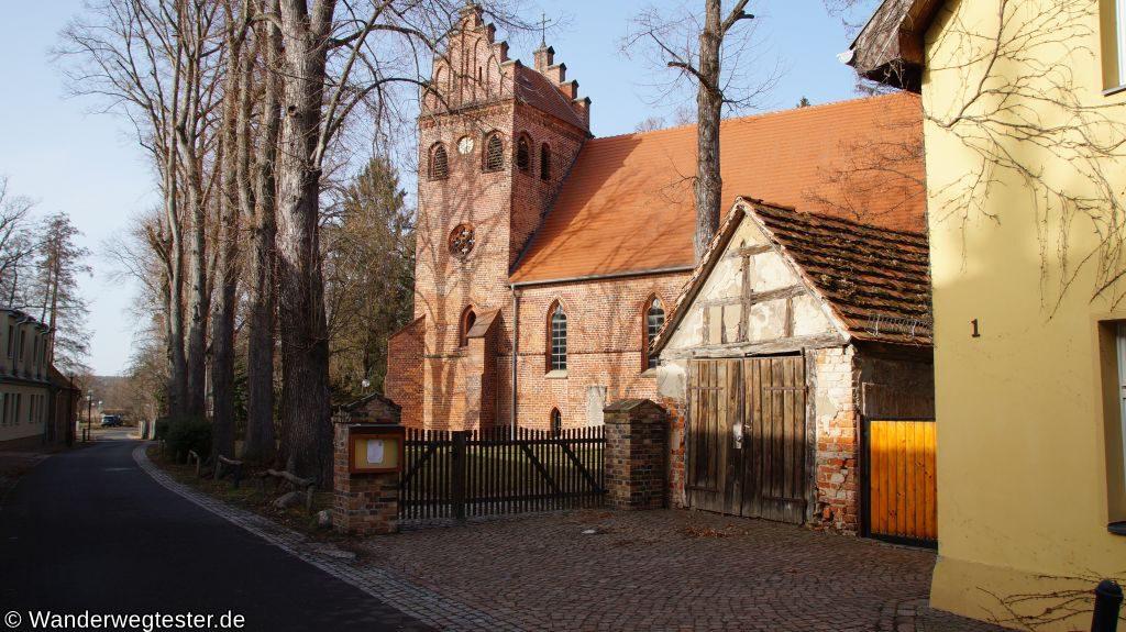 Wanderwegtester Teupitz Heilig Geist Kirche