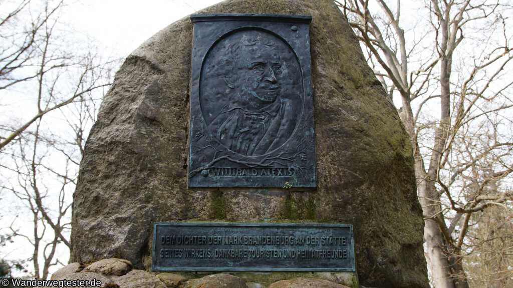 Denkmal für Willibald Alexis