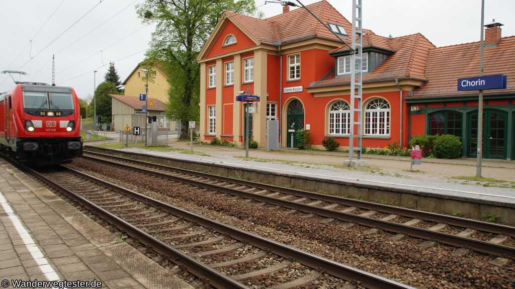 Historischer Bahnhof von Chorin