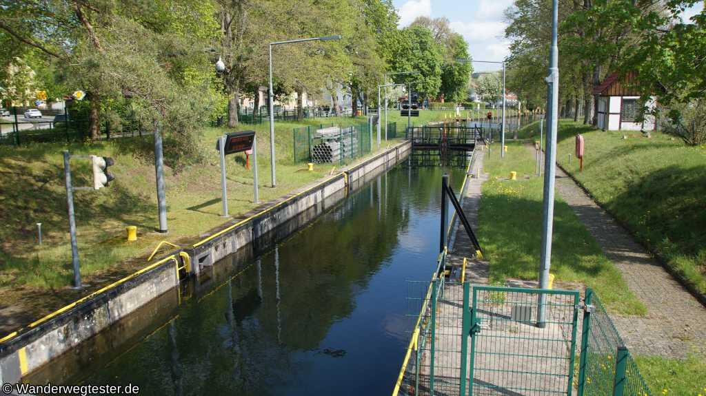 Schleuse in Eichhorst